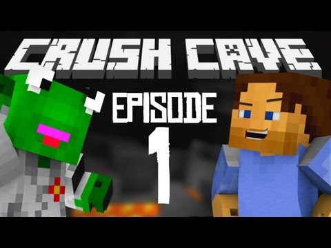 Crush Cave Episode 2: Minecraft Survival Let's Play with Kermitplaysmc