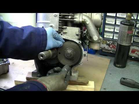 Dismantling a Blown 8hp Tecumseh from an Ariens Snowblower Part 2/3