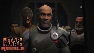 Star Wars Rebels: Saw Vs Ezra, Rex & Klik klak