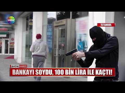 Bankayı soydu, 100 Bin Lira ile kaçtı!