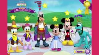 Mickey Mouse Clubhouse Full Episodes Games TV - Minnies Masquerade