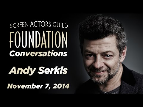 Conversations with Andy Serkis