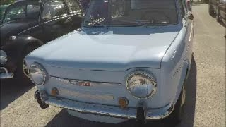 1967 Simca 1000 Four Door Sedan Blu Sanford042917