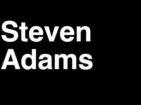 How to Pronounce Steven Adams Oklahoma City Thunder NBA Draft Pick Player