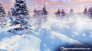 Winter Wind Sounds For Sleeping Storm White Noise 10 Hours
