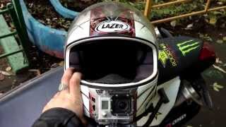 Best position the mount GoPro on the helmet, Russia