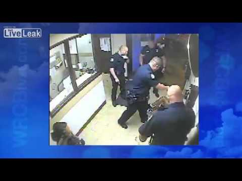 Police Beat The Fuck Out Of A Man. Officers Later Fired For Excessive Force. video