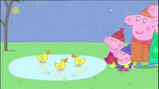 Peppa Pig (Series 2) - Cold Winter Day (with subtitles)