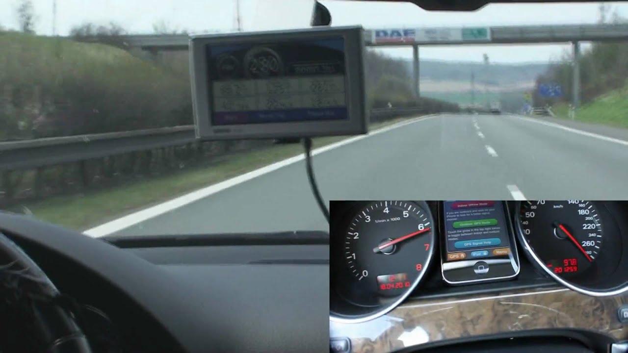 Audi A8 W12 6 0 Top Speed 295km  H