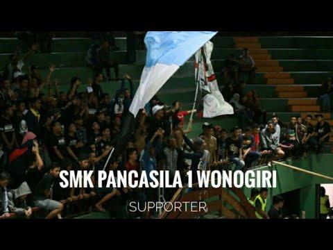 SMK PANCASILA 1 WONOGIRI Thnks SMA N 3 WONOGIRI (supporter) Lagu Sampai Kau Bisa (BCS)