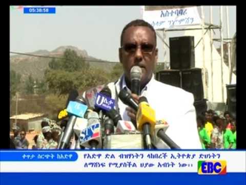 Deputy Prime Minister of Ethiopia Demeke Mekonnen On Adwa Victory