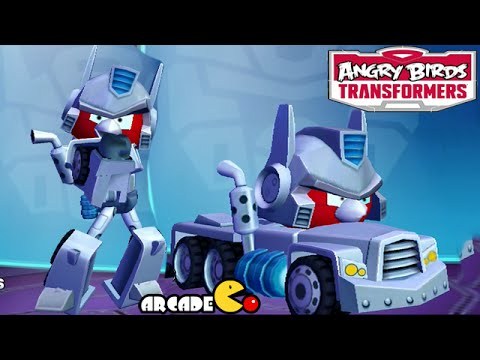 Angry Birds Transformers: New Character Ultra Magnus Unlocked Gameplay video