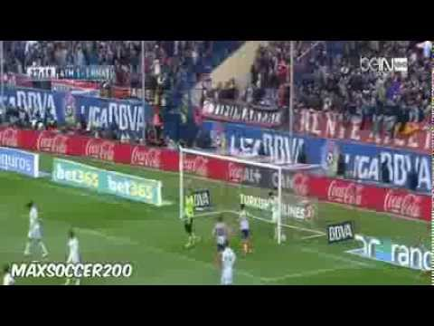 Atletico Madrid vs Real Madrid 2 2 ~ Highlights 02 03 2014