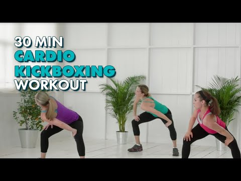 Cardio Kickboxing - CafeMom Studios Workout - Season 2 Episode 1