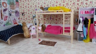 Barbie videos Barbie Morning routine in Barbie dream house Videos de Barbie Rutina de la mañana
