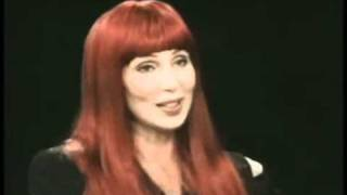 Cher - Charlie Rose Show (1995) Part 2