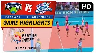 The Creamline Cool Smashers are the Champions! | Game Highlights | July 11, 2018