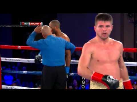 Ievgen Khytrov Drops Maurice Louishomme - SHOWTIME Boxing