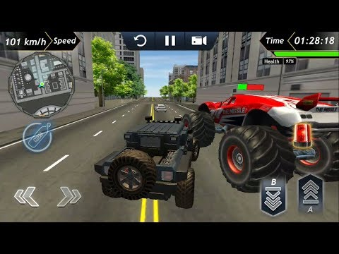 Offroad Police Car Driving #1 Android GamePlay & Game Video Police Car Driving Simulator Games