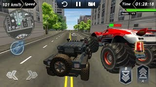 Offroad Police Car Driving #1 Android GamePlay & Game Video | Police Car Driving Simulator Games
