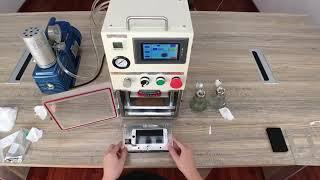 For iphone 7 lcd repair YMJ vacuum laminating process