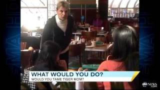 'Tiger Mother' Rips Into Kid Over A-Minus- What Would You Do-  ABC News