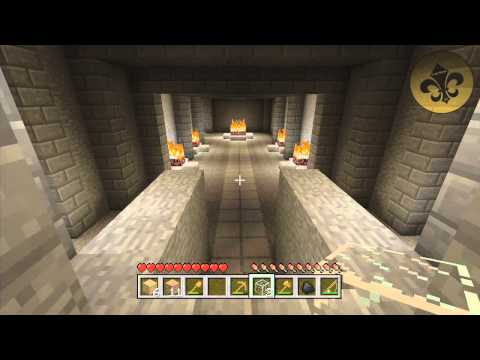 Minecraft (Xbox 360): HIDDEN NETHER PORTAL LOCATION (1.8.2 Update - Tutorial World)