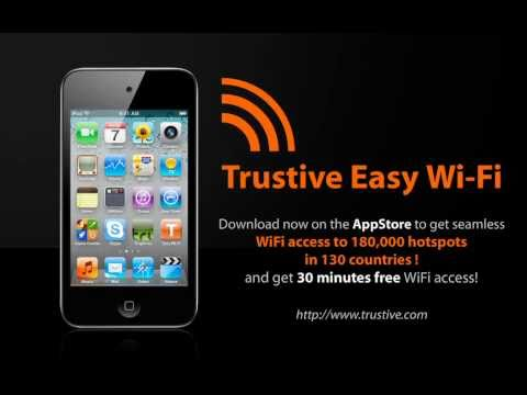 Facetime, online gaming, sharing videos and photos.. whatever you look to do on your iPod Touch, Trustive's low-cost, international WiFi service will enable ...