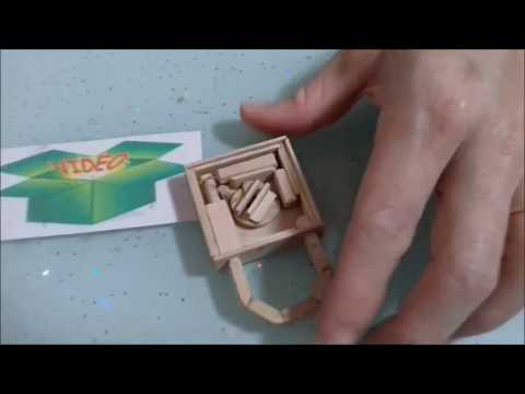 Copy of How to make a Working Safe Lock From Popsicle Sticks || DIY Anniversary Lock