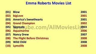 Emma Roberts Movies List
