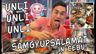 Samgyupsalamat Cebu UNLIMITED Korean BBQ | Ram Vlogs