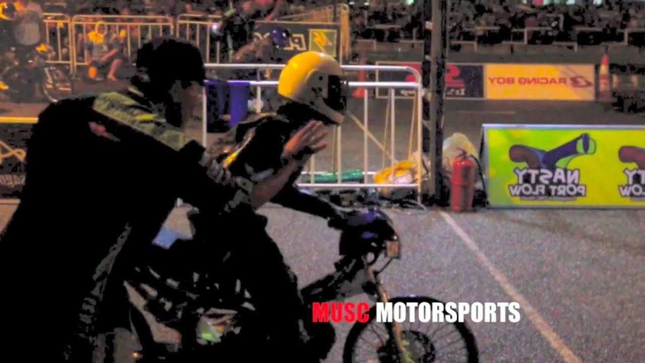 BIKE DRAG RACE - 125Z STD BODY - MALAYSIAN DRAG RACING 2013 - YouTube