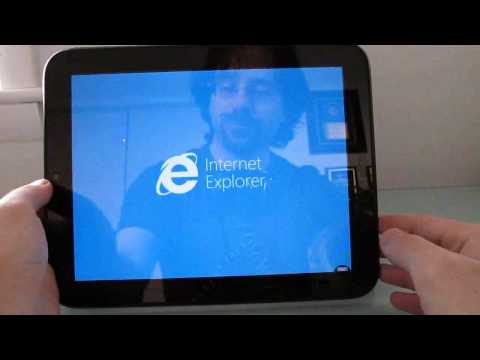 What Windows 8 looks like on an HP TouchPad
