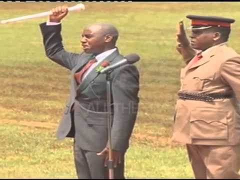 Churchill, Teacher Wanjiku and Nyambane Perform at Kasarani, Kenya@50
