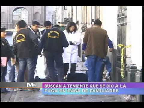 TVMUNDO Arequipa: Policías involucrados en crimen fueron interrogados