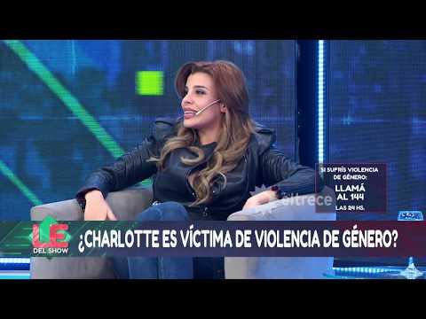 Charlotte Caniggia naturalizó su relación con Lhoan basada en violencia