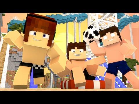 Minecraft: PARQUE AQUÁTICO !! - Casa Dos Youtubers #15