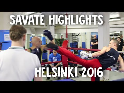 Helsinki Savate Open 2016: highlights, James Southwood