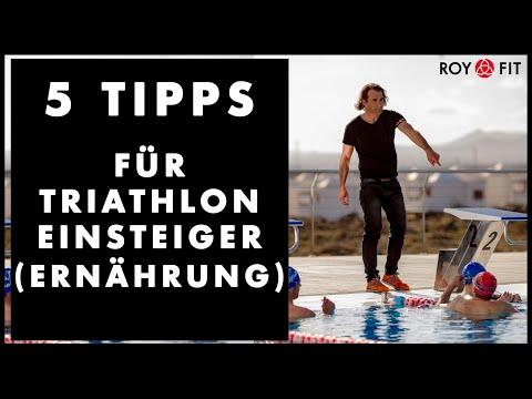 5 Tipps für Triathlon Einsteiger (Ernährung)