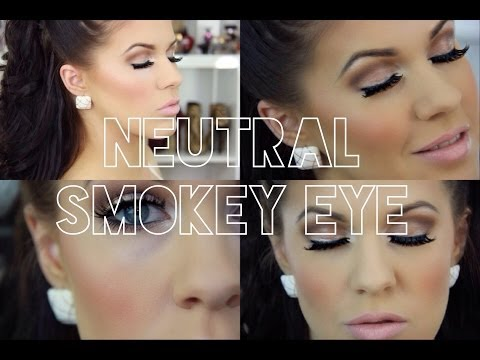 Makeup For Daytime Wedding Guest : Easy Neutral Daytime Smokey Eye How To Make and Do Everything!