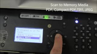01. i SENSYS Memory Media Scan&Print with MF6100 series