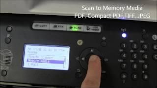 01. i SENSYS Memory Media Scan&Print with MF6100 series