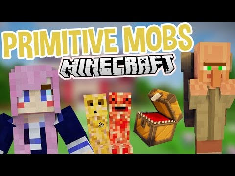 Crazy Creatures   Weird Minecraft Mod   Primitive Mobs