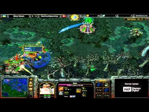 Navi vs MyM @ Intel Challenge SuperCup WB Round 2 - Game 1