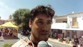 Sardegna Rally Race 2015: Mirko Pavan al traguardo della gara