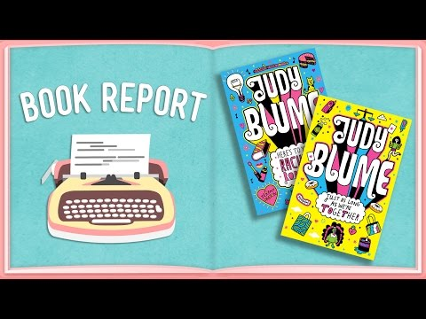 JUDY BLUME Book Reviews feat. Mo Collins - Book Report (Hosted by Aisha Muharrar)