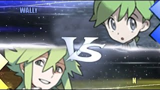 Pokemon Omega Ruby & Alpha Sapphire [ORAS]: Wally Vs N