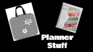 The Happy Planner Storage Case & Recollections Unicorn Planner- Planner Stickers & Organization