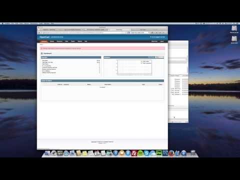 OpenCart Tutorials: 1 - How to Install OpenCart