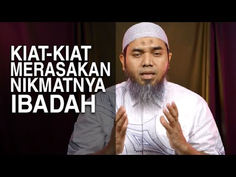 Tausiyah Ramadhan 13: Kiat-Kiat Merasakan Nikmat Ibadah - Ustadz Afifi Abdul Wadud